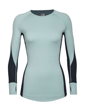 Womens BodyfitZone™ Merino 260 Zone Long Sleeve Crewe Thermal Top Our technical, cold-weather base layer top for highly aerobic days, the 260 Zone Long Sleeve Crewe features zoned ventilation panels for active temperature regulation and ample breathability.