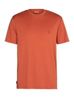 T-shirt manches courtes col rond mérinos Nature Dye Sisao Dye Origin