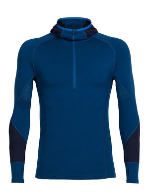 BodyfitZONE™ Winter Zone Long Sleeve Half Zip Hood