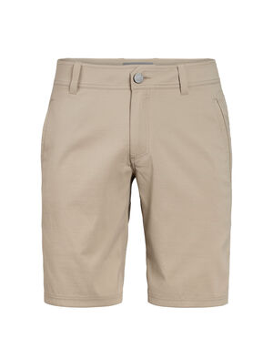 Mens Connection Commuter Shorts Durable, comfortable and stylish men's casual shorts designed with nylon, merino and Spandex, the Connection Commuter Shorts are perfect for travel and the daily commute.