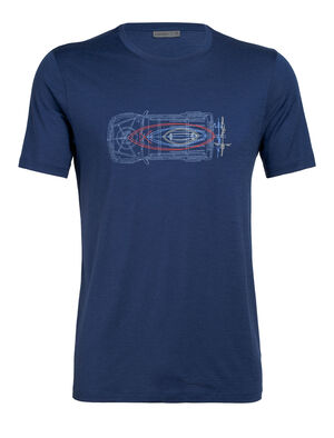 Mens Tech Lite Short Sleeve Crewe Wireframe Wonder Our most versatile tech tee, in breathable, odour-resistant merino wool. Artist Damon Watters has every board and bike adventure covered in his sketch of a ready-for-anything off-road vehicle.