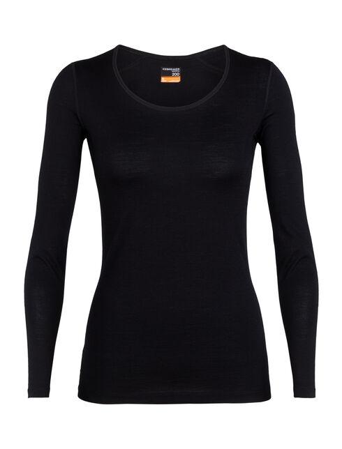 Merino 200 Oasis长袖低圆领上衣