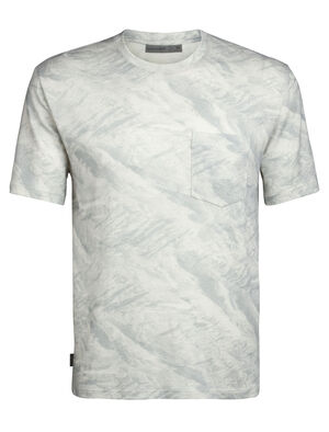Merino 200 Short Sleeve Pocket Crewe T-Shirt IB Glacier