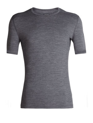 Mens Merino 200 Oasis Short Sleeve Crewe Thermal Top Our versatile, go-anywhere shirt made from breathable 100% merino wool jersey, the 200 Oasis Short Sleeve Crewe is our best-selling base layer top.