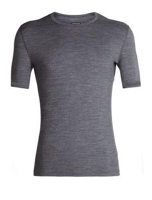 男款 200 Oasis短袖圆领上衣 200 Oasis短袖圆领上衣以透气的100%美丽诺羊毛平纹针织面料制成,是我们的畅销款打底上装,无论前往何处均可穿着,用途广泛。