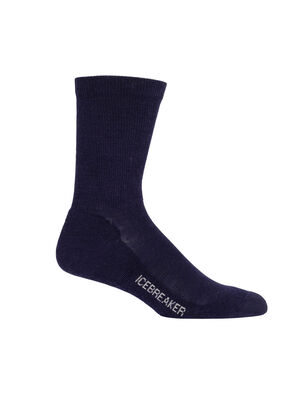 Mens Merino Lifestyle Light Crew Socks Lightweight, soft, and breathable for everyday comfort, the Lifestyle Light Crew socks are made with a stretchy and luxurious merino wool blend, with reinforced heels and toes.