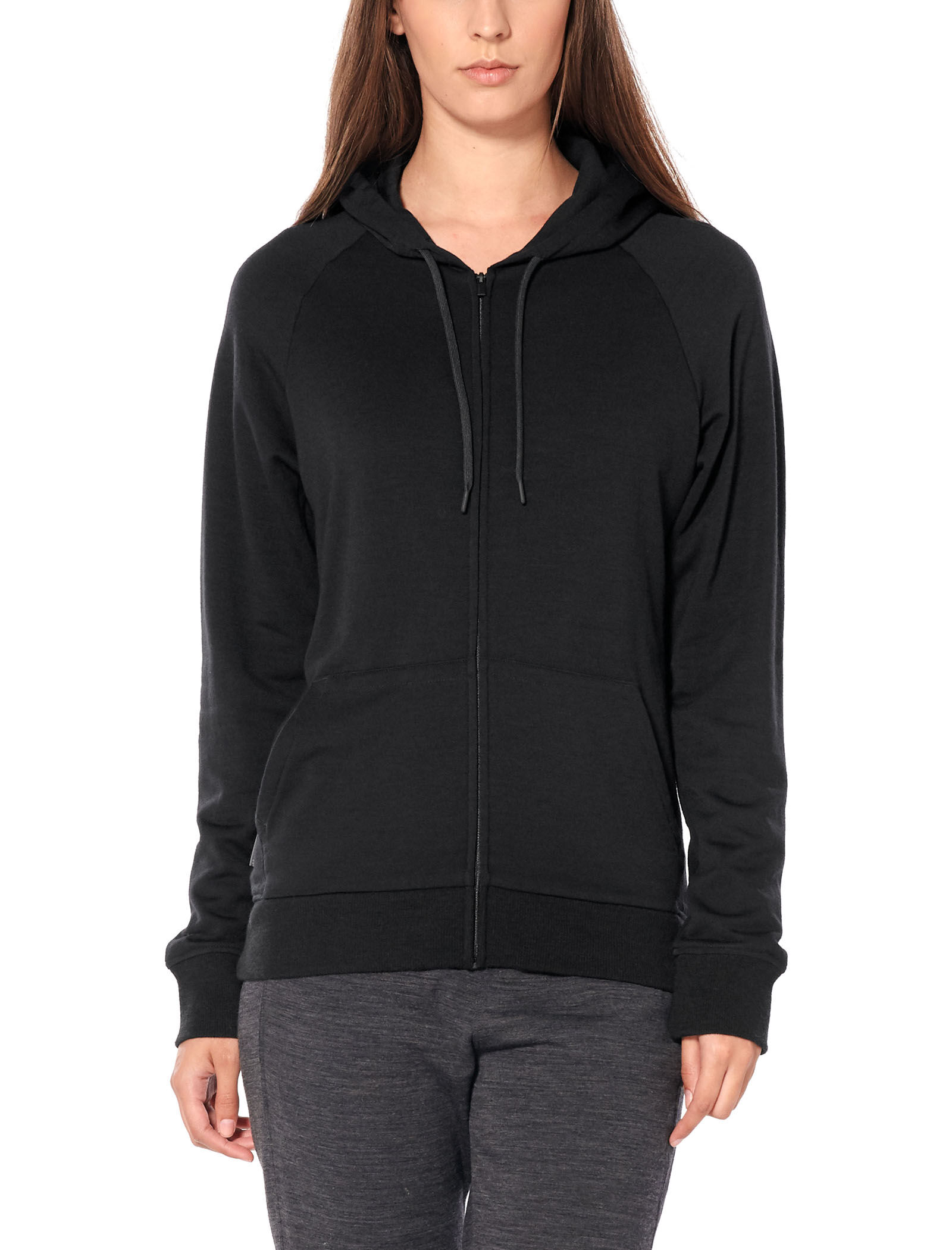 Helliers Long Sleeve Zip Hood Damen