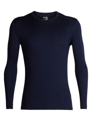 Mens 200 Oasis Long Sleeve Crewe A versatile men's merino wool base layer shirt, the 200 Oasis Long Sleeve Crewe combines casual comfort with technical performance.