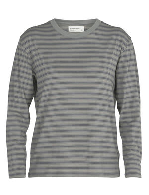 Womens Merino 150 Long Sleeve Crewe Stripe T-Shirt A classic and indispensable T-shirt with a long-sleeve silhouette and the natural benefits of merino wool, the 150 Long Sleeve Crewe Stripe is an everyday wardrobe essential.