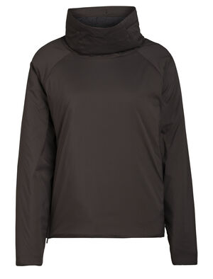 Womens MerinoLoft™ Westerly Long Sleeve Pullover Top A stylish insulated pullover made with our innovative MerinoLoft™ insulation, the Westerly Long Sleeve Pullover combines recycled and natural materials for everyday warmth and travel performance.