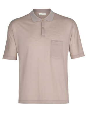 Mens Cool-Lite™ Merino Short Sleeve Polo Shirt A classic mens polo shirt made with our lightweight, breathable Cool-Lite™ fabric, the Cool-Lite™ Short Sleeve Polo is stylish and comfortable with the natural benefits of merino.
