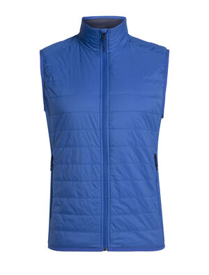 Mens MerinoLOFT™ Hyperia Lite Vest The merino-insulated Hyperia Lite Vest provides a technical dose of core warmth in a compressible, lightweight design. The ultralight yet durable Pertex® Quantum Air shell that sheds light precipitation and MerinoLOFT™ insulation inside makes this Vest the perfect adventure companion.