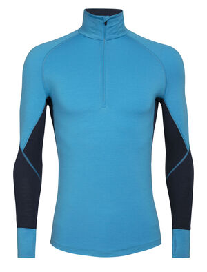 Mens BodyfitZone™ Merino 260 Zone Long Sleeve Half Zip Thermal Top Our technical, cold-weather base layer top for highly aerobic days, the 260 Zone Long Sleeve Half Zip features zoned ventilation panels for active temperature regulation and ample breathability.