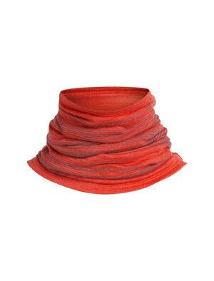 Unisexe Cool-Lite™ Flexi Chute 1000 Lines Accessoire polyvalent en laine mérinos composé de notre tissu cool-lite™, le Flexi Chute 1000Lines se fait tour à tour cagoule, bonnet, tour de cou, protection contre le soleil ou bandeau.