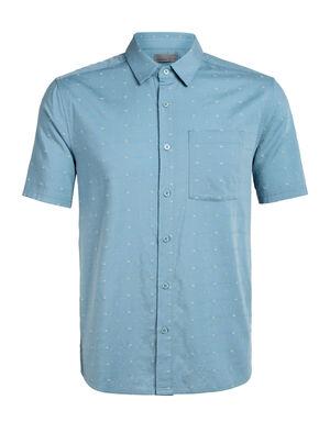 Cool-Lite™美丽诺羊毛Compass短袖衬衫