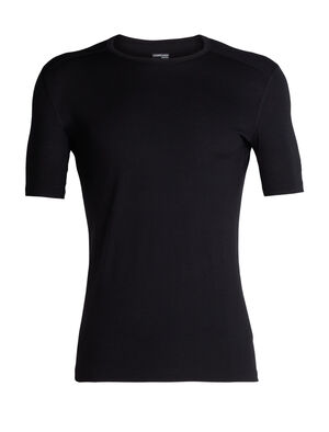 Mens 200 Oasis Short Sleeve Crewe A versatile lightweight mens merino wool base layer t-shirt for year-round layering performance, the 200 Oasis Short Sleeve Crewe is a go-to men's top for any day of the year.