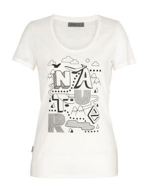 美丽诺羊毛Tech Lite短袖低圆领T恤(Nature)