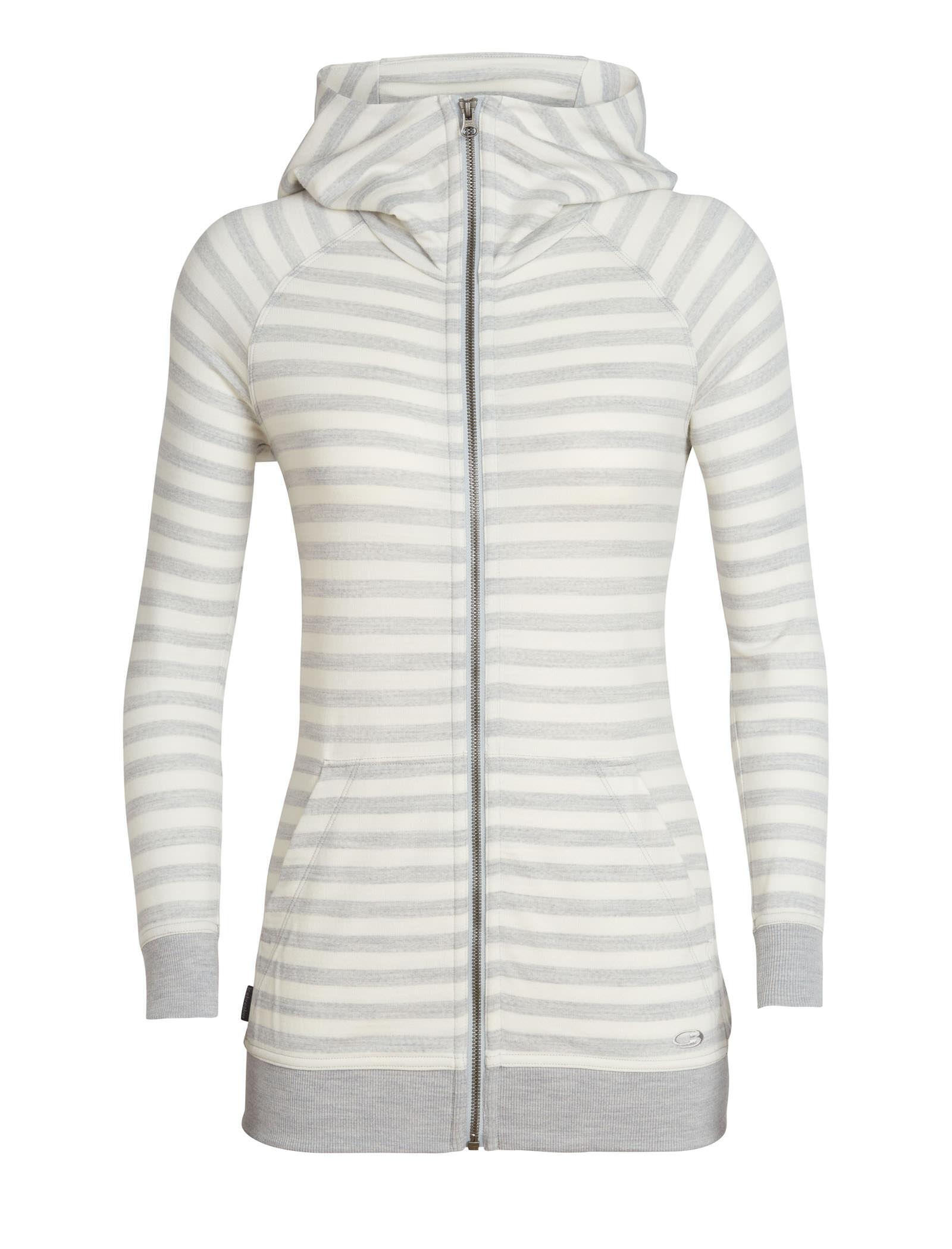 super.natural Womens Hooded Jacket W Essential Zip Hoodie Merino Wool