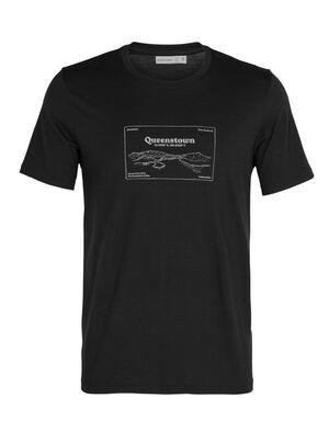 T-shirt manches courtes col rond mérinos Tech Lite Queenstown