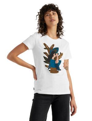 icebreaker x Mélanie Johnsson Merino T-Shirt Jungle Woman