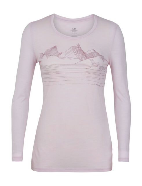 Tech Lite Long Sleeve Low Crewe Approach