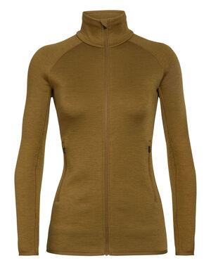 女款 RealFleece™ Elemental长袖拉链上衣 Elemental长袖拉链上衣采用流线型设计和富有弹性的美丽诺羊毛RealFleece™面料,是寒冷天气下进行训练或探险的理想加厚中层衣。