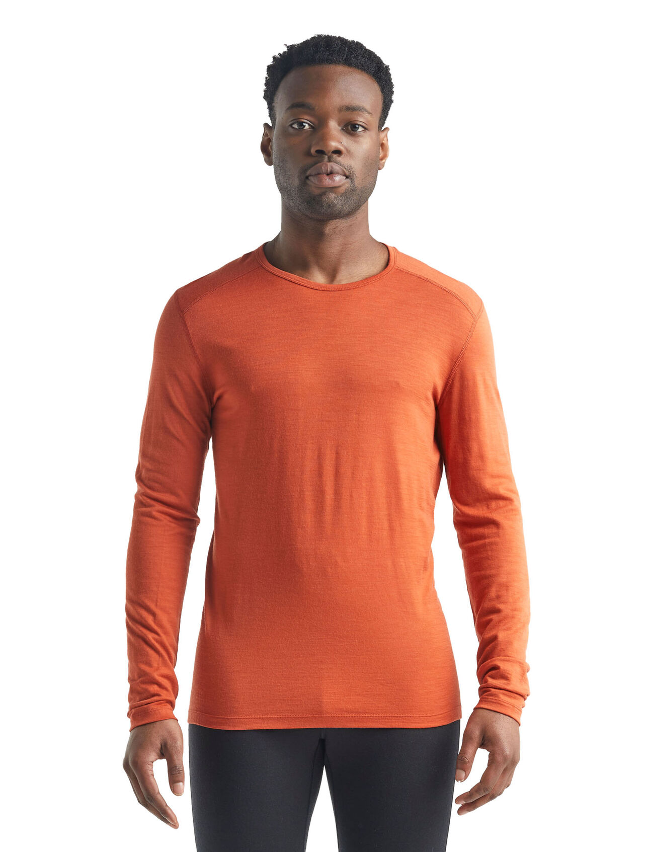 T-shirt manches longues col rond 200 Oasis