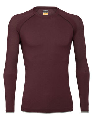 Mens Merino 200 Zone Seamless Long Sleeve Crewe Thermal Top Our highly technical midweight base layer top with an innovative tubular merino knit and zone ventilation, the 200 Zone Seamless Long Sleeve Crewe is incredibly breathable and stretchy for high-output pursuits.
