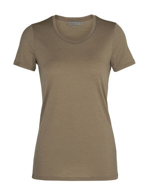 Womens Merino Tech Lite Short Sleeve Low Crewe T-Shirt Our most versatile merino tech tee, the Tech Lite Short Sleeve Low Crewe is stretchy, highly breathable, and odour-resistant—perfect for just about any adventure you can think of.