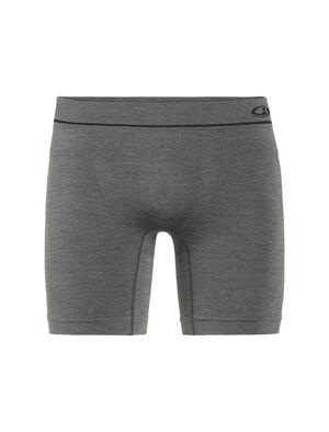 男款 Cool-Lite™ Anatomica无缝长款平角裤 修身剪裁的Anatomica无缝长款平角裤采用无缝设计和耐穿透气的美丽诺羊毛混纺面料,是一款格外舒适的高性能内裤,适合日常穿着和运动时选择。