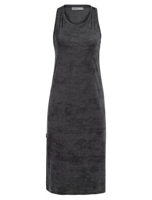 Womens Cool-Lite™ Yanni Tank Midi Dress A stretchy women's active merino wool dress, the Yanni Tank Midi Dress combines a stylish tank top with a breathable and comfortable summer dress.