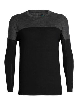 Mens Cool-Lite™ Kinetica Long Sleeve Crewe A high-performing T-shirt with a breathable mesh back, the Kinetica Long Sleeve Crewe is made from our soft and durable Cool-Lite™ merino-blend fabric