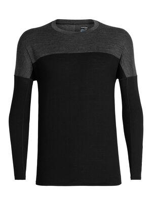 男款 Cool-Lite™ Kinetica长袖圆领上衣 Kinetica长袖圆领上衣由柔软耐穿的Cool-Lite™美丽诺羊毛混纺面料制成,背部采用透气的网眼设计,是一款性能出众的T恤。