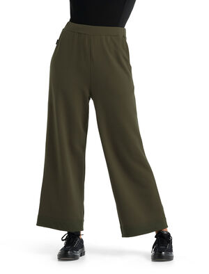 Realfleece™ Dalston broek met wijde pijpen van merinowol