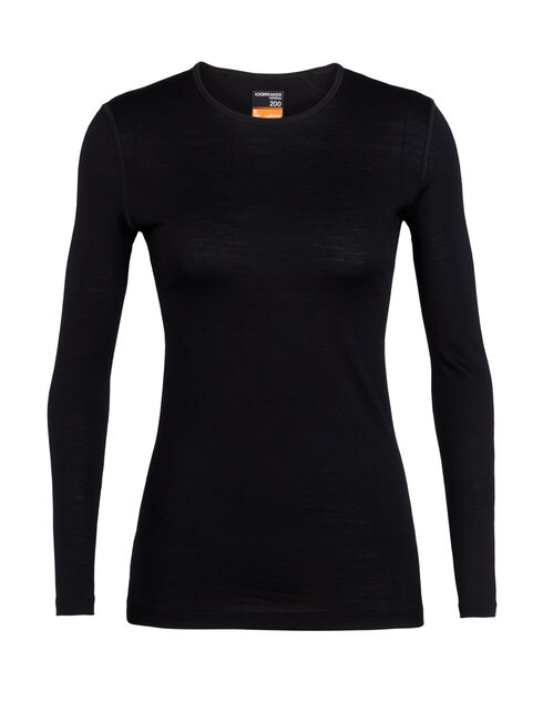 Women's 200 Oasis Long Sleeve Crewe