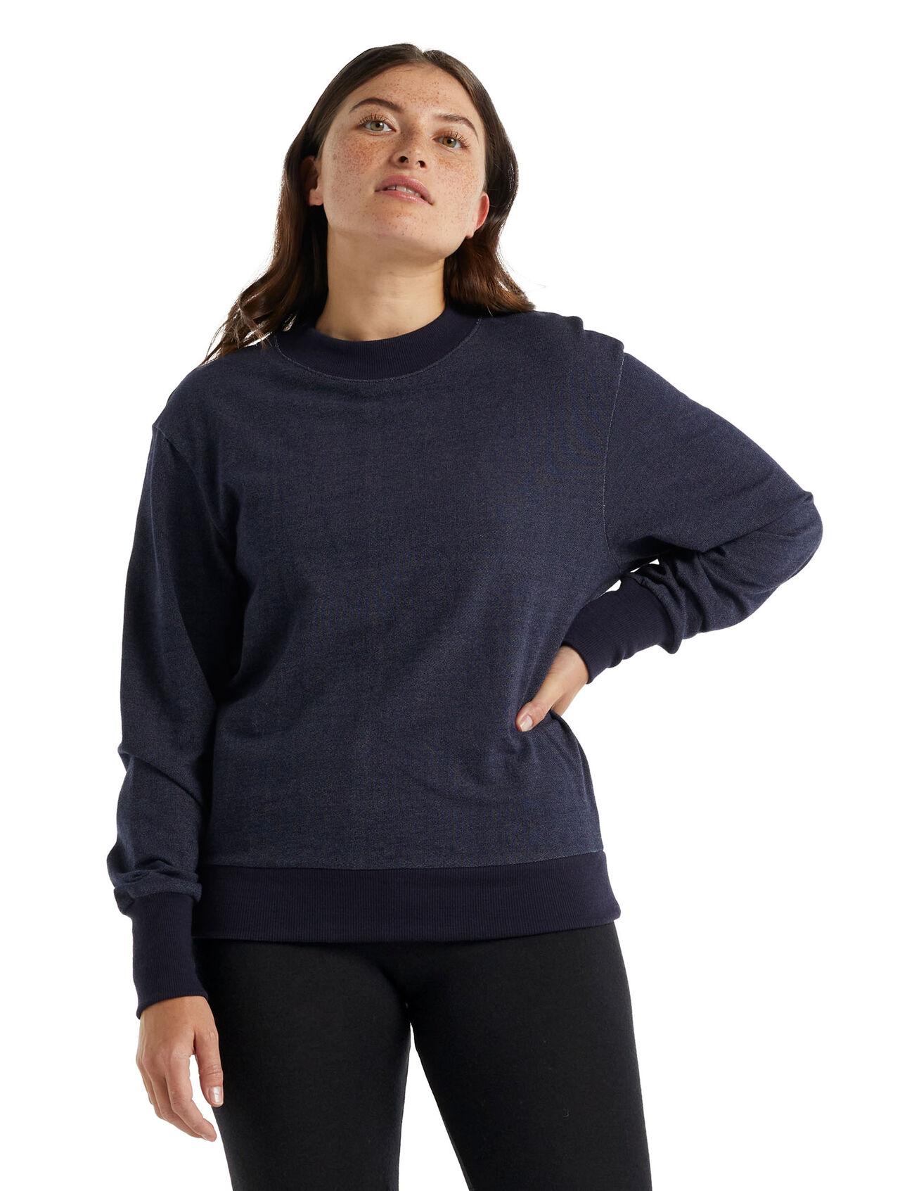 美丽诺羊毛Central长袖运动衫