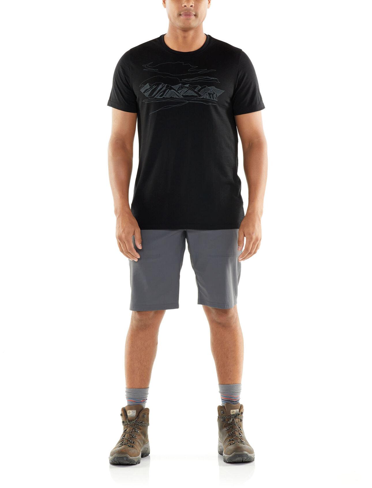 Icebreaker Herren Spector Crewe Coronet Peak T-Shirt Merinoshirt NEU