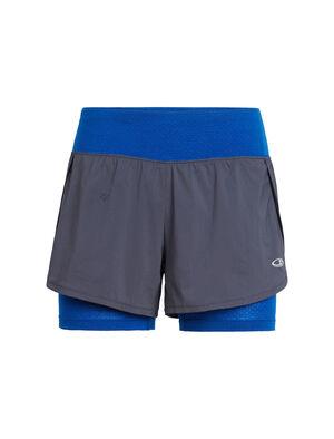 女款 Cool-Lite™美丽诺羊毛Impulse训练短裤 女款Impulse训练短裤选用柔软耐穿的美丽诺羊毛cool-lite™面料,在各种条件下均能保证理想的舒适性,是健身房训练、举重或循环锻炼时穿着的理想短裤。