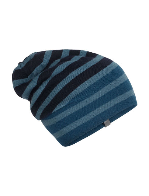 Stripe Slouch冷帽