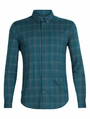 Cool-Lite™ Compass Flannel Long Sleeve Shirt