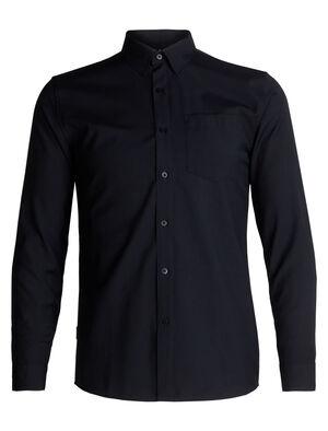 男款 Departure长袖衬衫 Departure长袖衬衫将舒适的100%纯美丽诺羊毛与您喜爱的法兰绒相结合,是一款高度透气、适合在旅行时穿着的梭织衬衫。