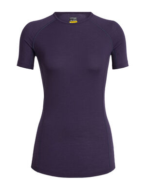 Womens BodyFitZone™ Merino 150 Zone Short Sleeve Crewe Thermal Top Our lightest base layer top that's perfect for active adventure and everyday training, the 150 Zone Short Sleeve Crewe features 150gm jersey corespun with LYCRA® to maximize flexibility.
