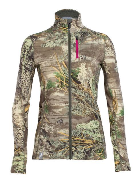RealFLEECE® Cascade Long Sleeve Zip Real Tree