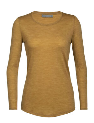 Cool-Lite™ Sphere långärmad t-shirt med halvdjup halsringning