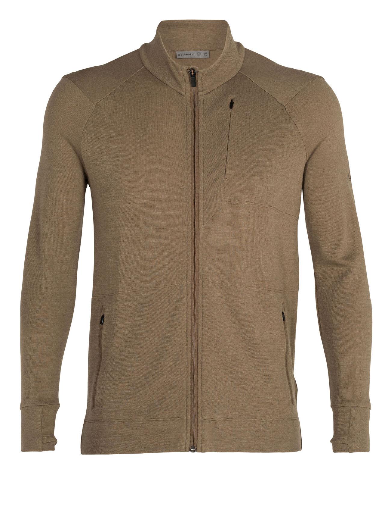 美丽诺羊毛Away II长袖拉链夹克