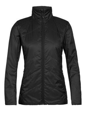 女款 MerinoLoft™ Helix夹克 蕴含先进技术Helix夹克以环保的MerinoLoft™保暖层和再生材料制成,是冬季里日常百搭的中层保暖单品。