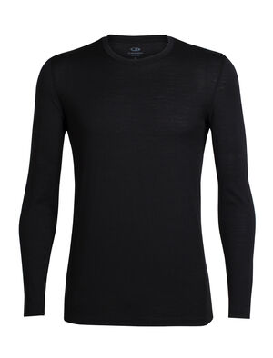Mens Tech Lite Long Sleeve Crewe The Tech Lite Long Sleeve Crewe is our highly breathable, comfortable and versatile merino T-shirt with capabilities as varied as the adventures you'll take it on.