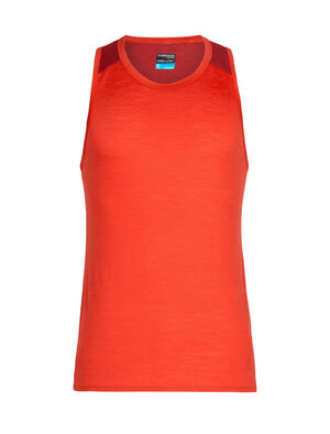 Mens Cool-Lite™ Merino Amplify Tank Top A technical top that harnesses the natural performance of merino, the Amplify Tank is ready for everything, from daily runs to mountain hikes, thanks to our Cool-Lite™ fabric.