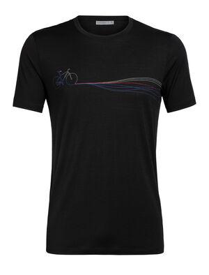 Merino Tech Lite Short Sleeve Crewe T-Shirt Cadence Paths