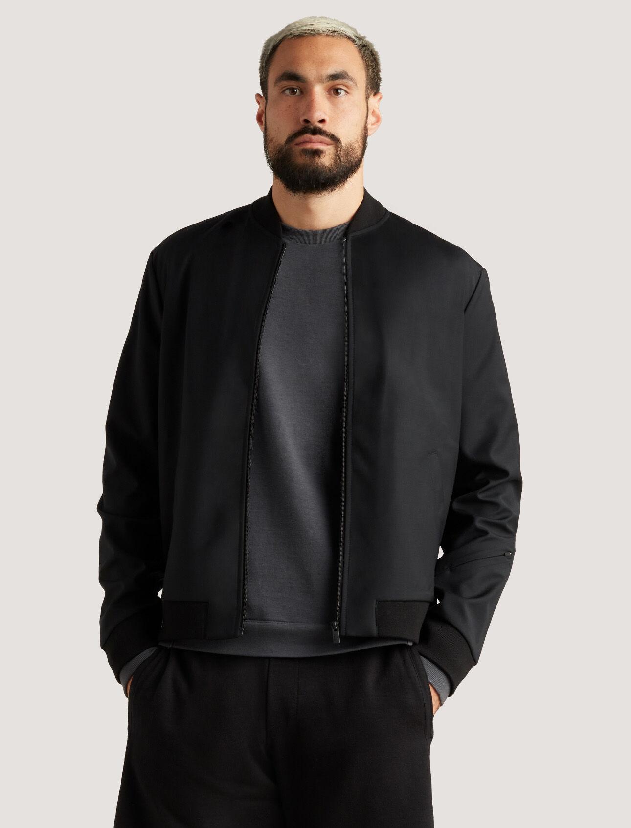 icebreaker城市系列Cool-lite™美丽诺羊毛飞行员夹克